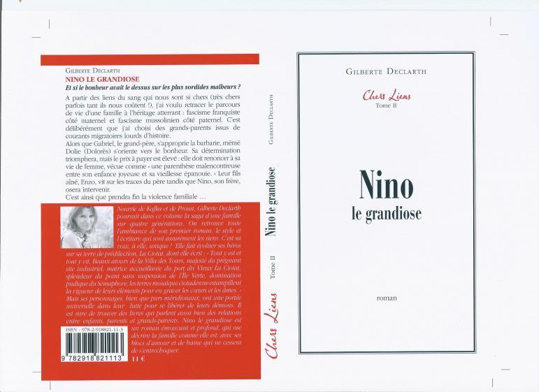 Roman nino le grandiose gilberte d ouvrages bienvenue - Achat par correspondance belgique ...